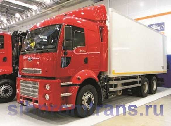 Грузовое шасси Ford Cargo 2535f""